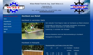 w ss metall technik gmbh beete garten gartengestaltung hochbeet metall metalltechnik. Black Bedroom Furniture Sets. Home Design Ideas